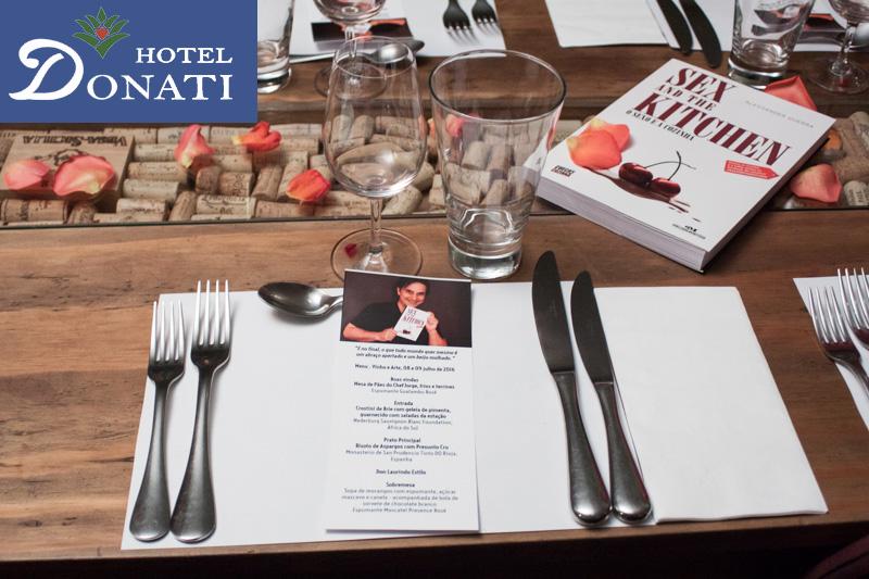 Jantar Sex and the Kitchen em Itatiaia - Jantar Sex and the Kitchen em Itatiaia