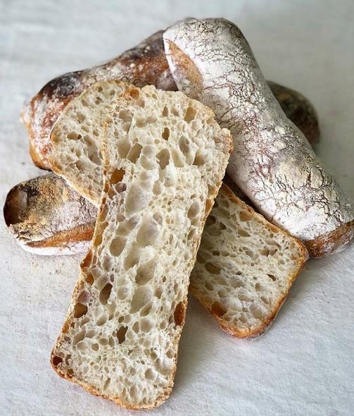 Pão com Pão  Ciabattas Rogerio Shimura - Pão com Pão
