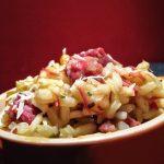Risoto de carne seca com abóbora 150x150 - Receita diferente com Lentilhas