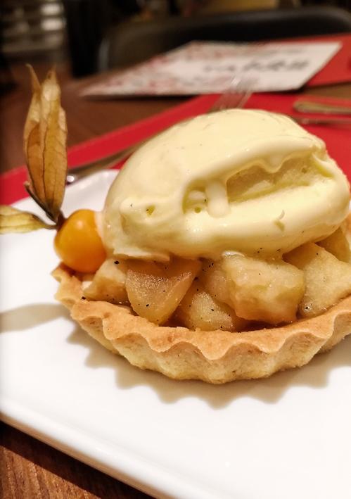 Estado Puro  torta de maçã - Estado Puro
