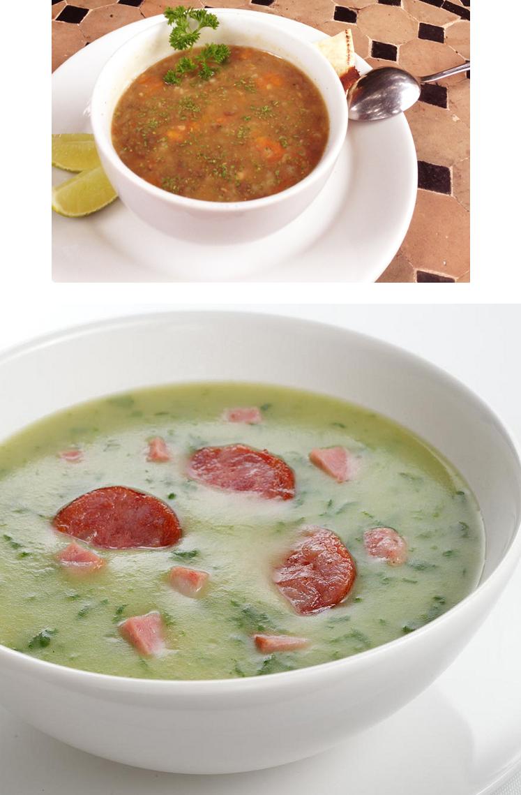 Receitas de Sopas 2 - + de 20 Receitas de Sopas deliciosas