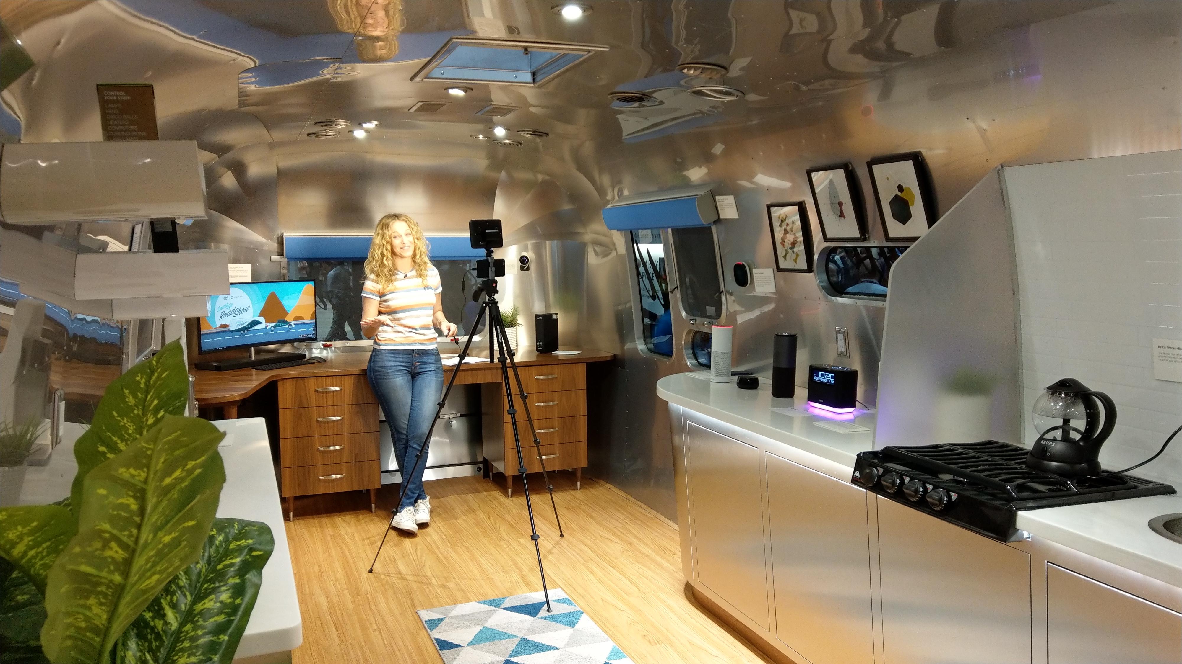 O futuro das receitas  Guru Carley Knobloch no Smarth Home Roadshow Amazon San Diego 2017 - O futuro das receitas