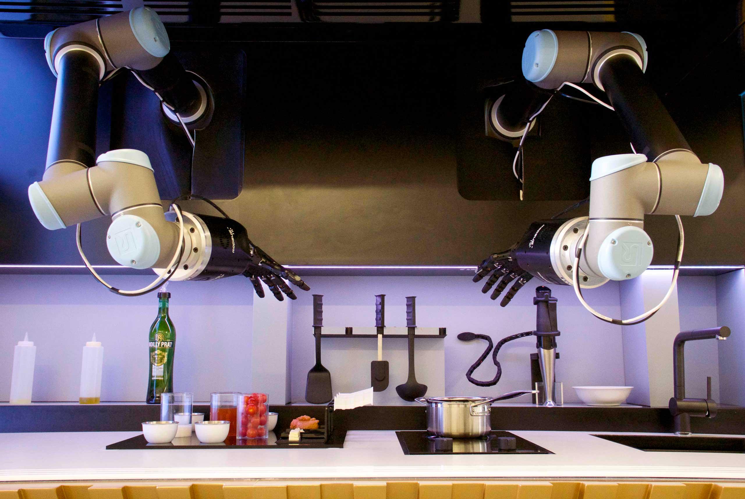 O futuro das receitas  moley robotics automated kitchen Foto Divulgação - O futuro das receitas