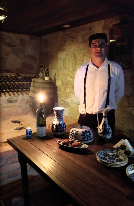 Quinta do Olivardo  Olivardo Visita a Cave - Quinta do Olivardo