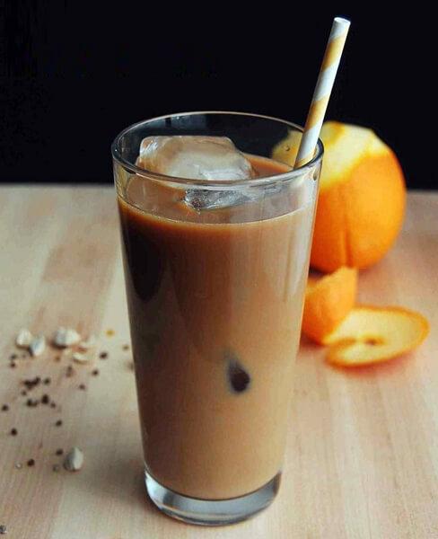 Receitas para o verão  Drinks Gelados com Café barista Dga Laranja - Receitas para o verão