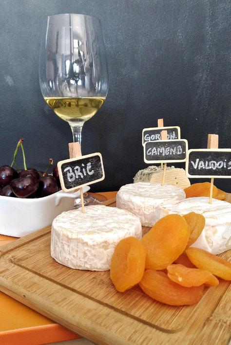 Receitas para o verão  Queijos e Vinhos com frutas e vinho branco - Receitas para o verão