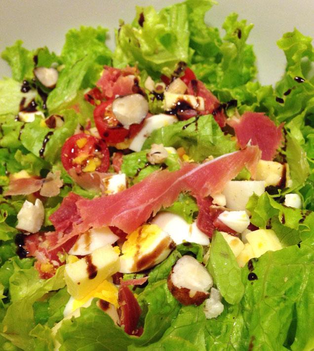 Receitas para o verão  Salada Especial foto Cuecas na Cozinha - Receitas para o verão
