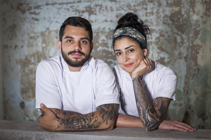 Charco Restaurante  chefs Tuca Mezzomo e Nathalia Gonçalves  foto Elisete Borim - Charco restaurante