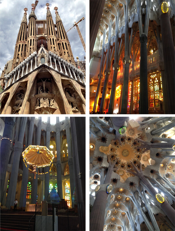 Barcelona Sagrada Família foto Cuecas na Cozinha - NIT Bar de Tapas