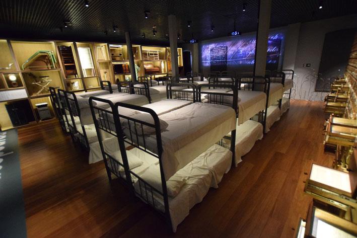 Museu da Imigração  camas - Museu da Imigração