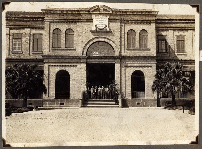 Museu da Imigração  fachada antiga - Museu da Imigração