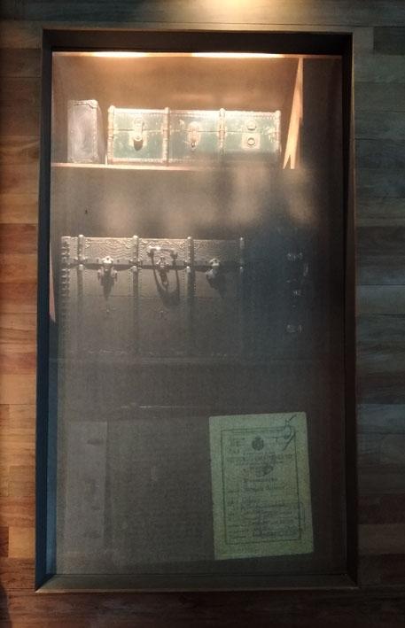 Museu da Imigração  malas e baus - Museu da Imigração