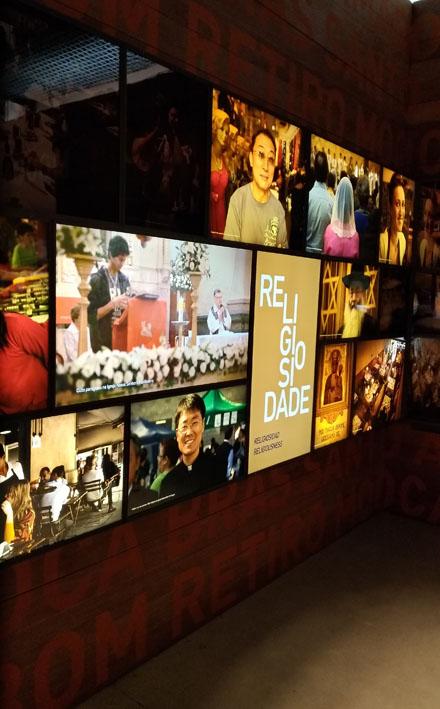 Museu da Imigração  religiosidade - Museu da Imigração