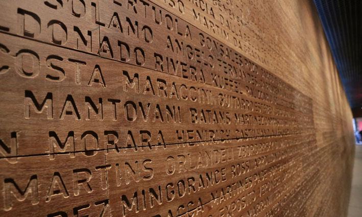 Museu da Imigração  sobrenomes - Museu da Imigração