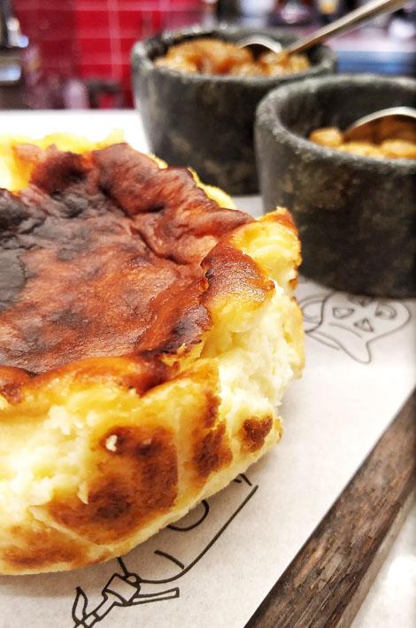 Nit Bar de Tapas  Torta de queijo - NIT Bar de Tapas