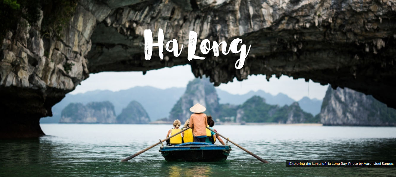Vietnam Ha Long Bay por Aaron Joel Santos - Cochinchine