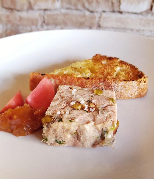 Terrine de Porco - Restaurante Cepa