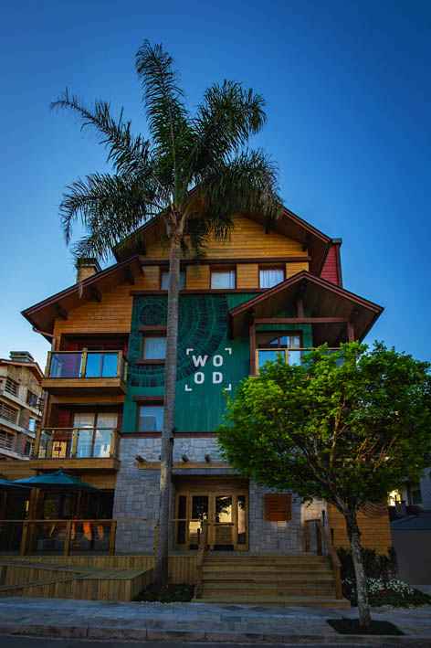 Wood Hotel Gramado fachada - Wood Hotel Gramado