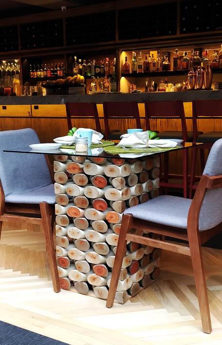 Wood Hotel Gramado mesa - Wood Hotel Gramado
