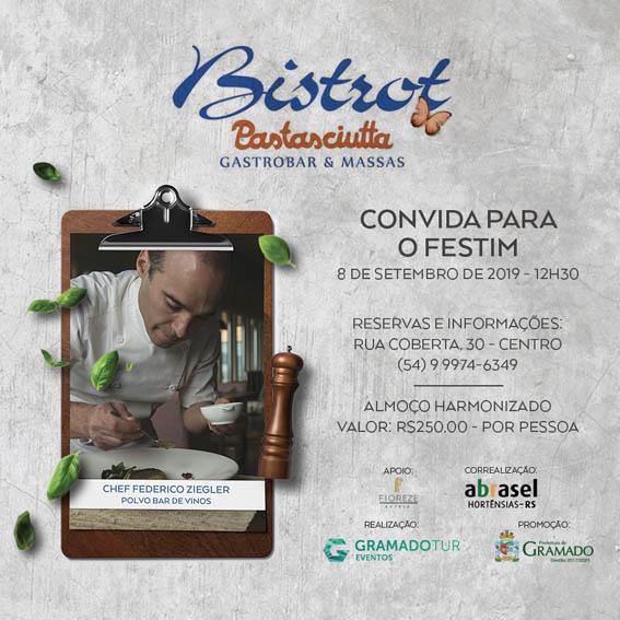 Bistrot Pastasciutta - Festival de Cultura e Gastronomia de Gramado