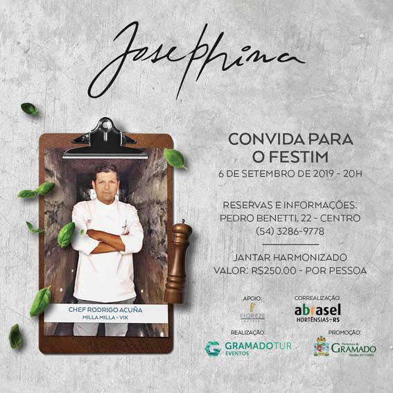 Josephina - Festival de Cultura e Gastronomia de Gramado