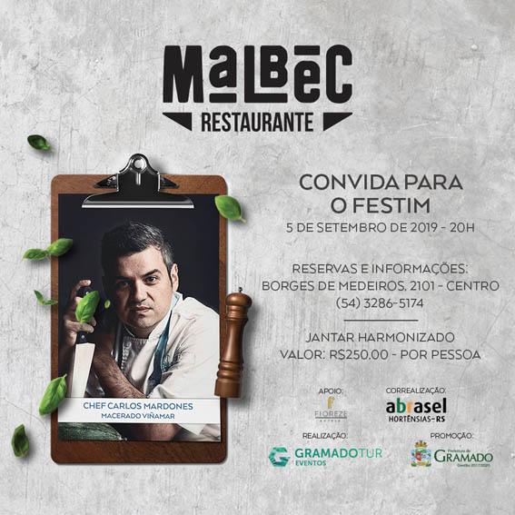 Malbec - Festival de Cultura e Gastronomia de Gramado