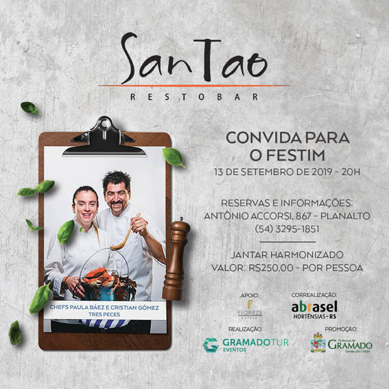 San Tao - Festival de Cultura e Gastronomia de Gramado