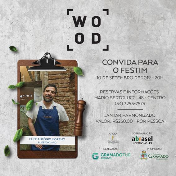 Wood - Festival de Cultura e Gastronomia de Gramado