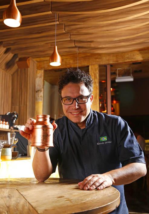 Marcelo Serrano no Venuto Bar fotoArturBragança - Venuto bar e restaurante