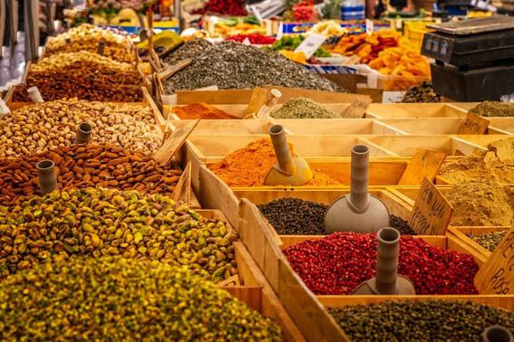 Especiarias - Vinhos com comida vegetariana ou vegana