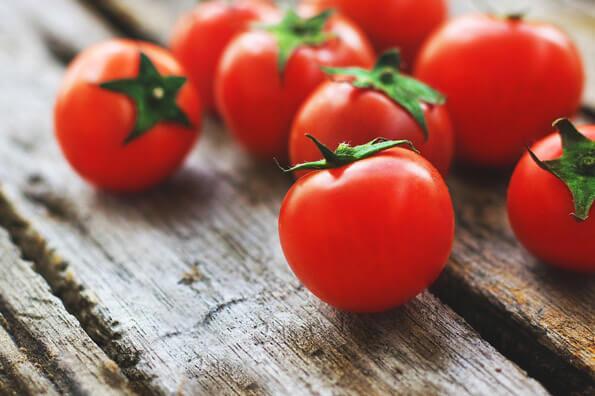 Tomates - Vinhos com comida vegetariana ou vegana
