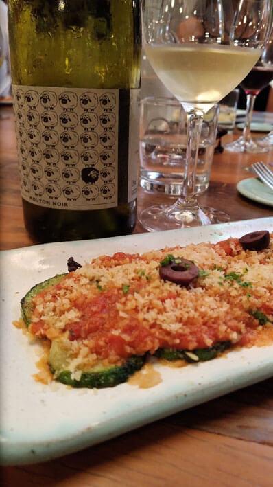Vinhos com comida vegetariana ou vegana  Abobrinha - Vinhos com comida vegetariana ou vegana
