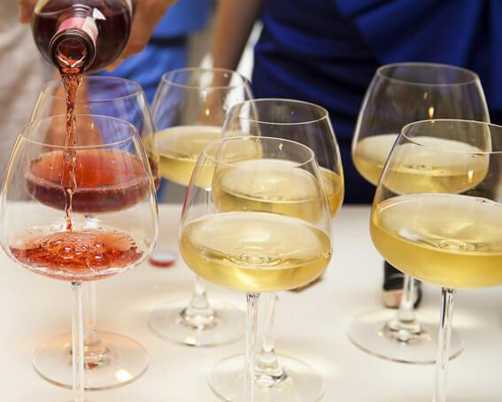 Vinhos com comida vegetariana ou vegana  taças vinhos - Vinhos com comida vegetariana ou vegana
