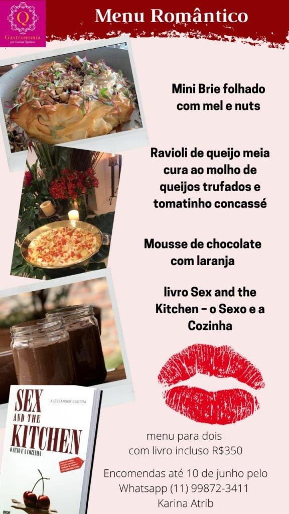 Presentes Criativos para o Dia dos Namorados  Q Gastronomia  Menu Romantico 576x1024 - Presentes criativos para o Dia dos Namorados