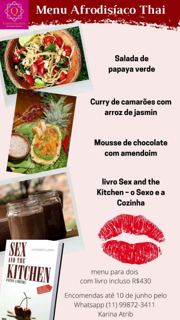 Presentes Criativos para o Dia dos Namorados  Q Gastronomia   Menu Afrodisiaco 576x1024 - Presentes criativos para o Dia dos Namorados