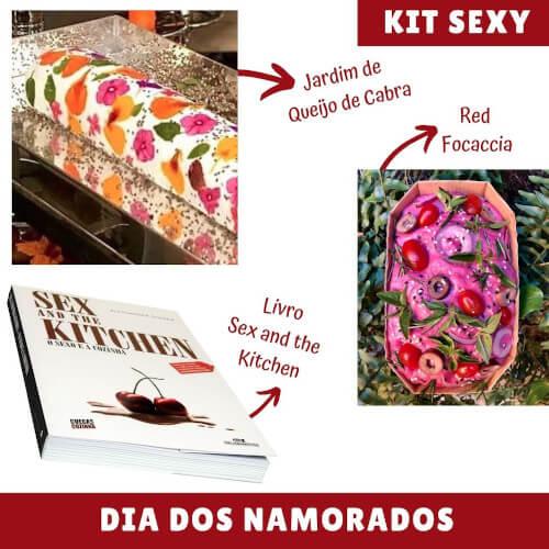 Presentes criativos para o Dia dos Namorados Kit Sexy Banqueteria Nacional  - Presentes criativos para o Dia dos Namorados