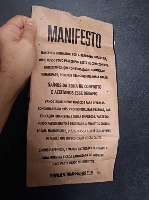 Movimento Happiness  manifesto - Movimento Happiness