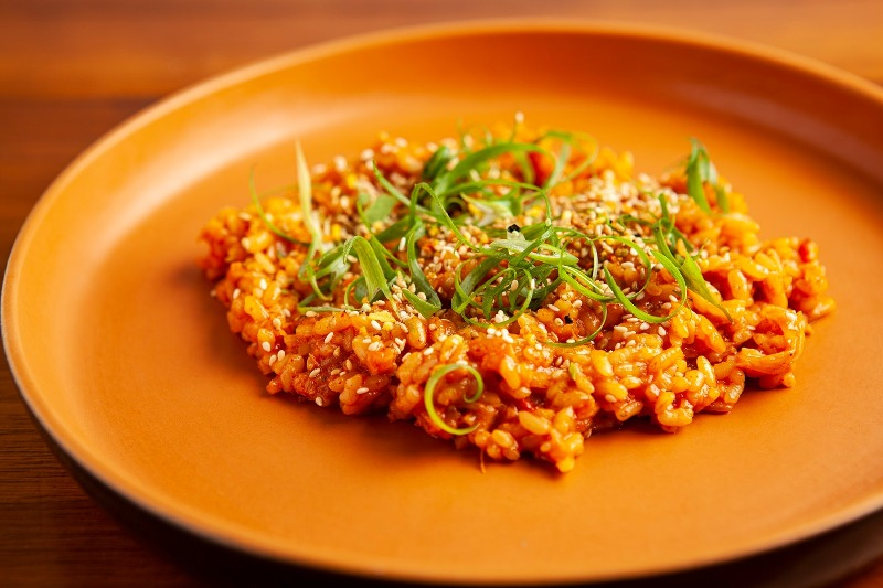 Culinaria Vegana QUINCHO ARROZ DE KIMCHIjpg - Culinária Vegana