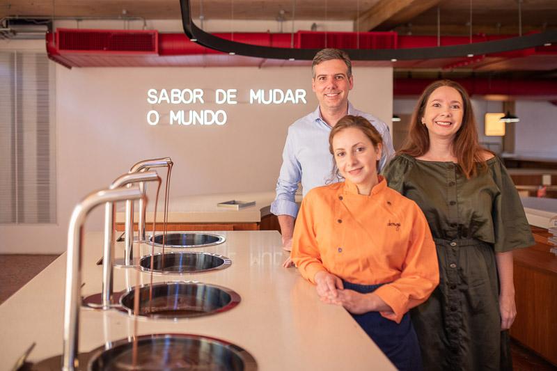 Fabrica de Dengo  Estevan Sartorelli Sanae Mattos e Luciana Lobo - Fábrica de Dengo