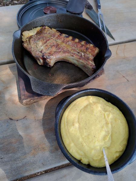 Mona almoco polenta - Monã