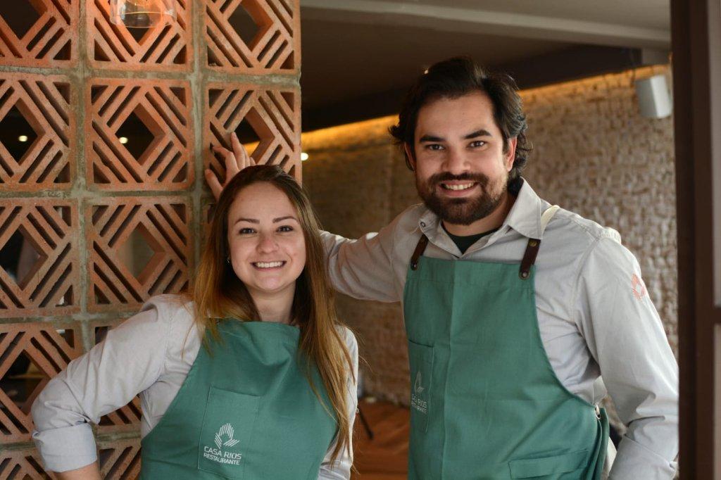 Casa Rios chef Giovanna Perrone e Rodrigo Aguiar 1024x682 - Casa Rios